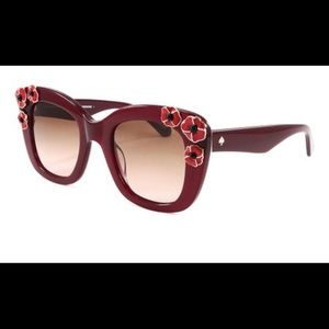 "Kate Spade oversized "" Drystle"" sunglasses"